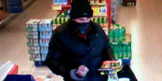 Bewaffneter überfiel Supermarkt