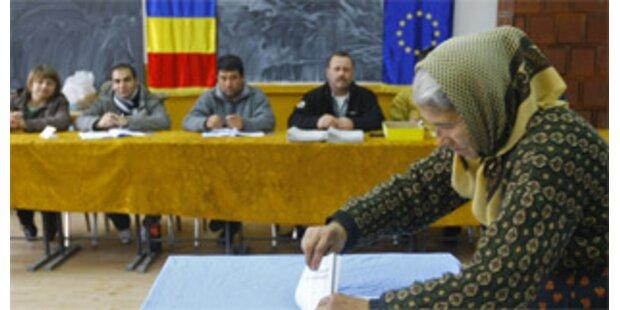 Wahlkrimi hält Rumänien in Atem