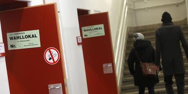 Wahlbeteiligung in Ländern hoch, in Wien niedrig