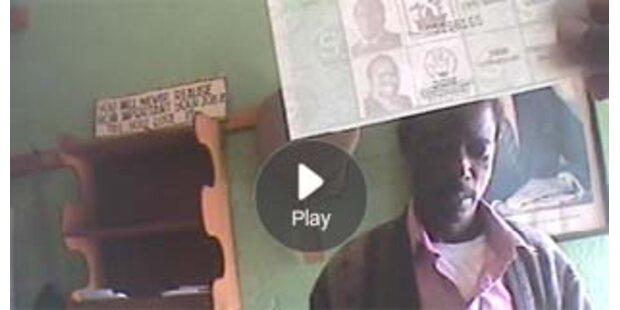 Video zeigt Wahlbetrug in Simbabwe