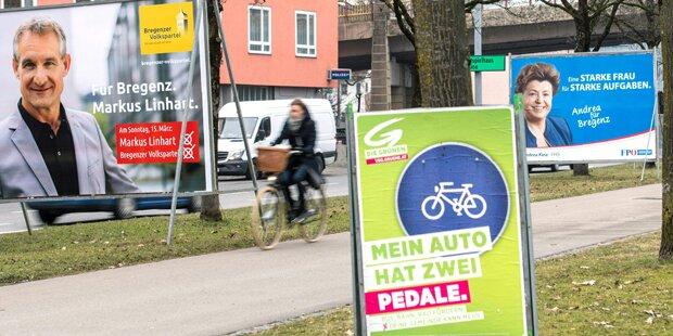 Vorarlberg: Wahllokale geschlossen