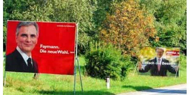 Rot-schwarzer Plakatstreit in Baden