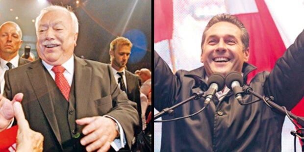 Wien-Wahl wird spannend wie nie