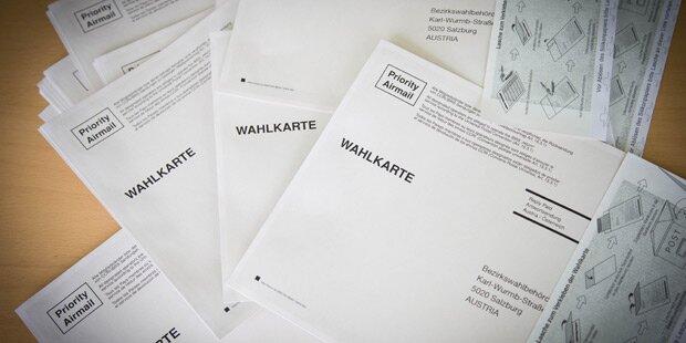 Schweizer wollen uns Wahl-Kuverts schicken