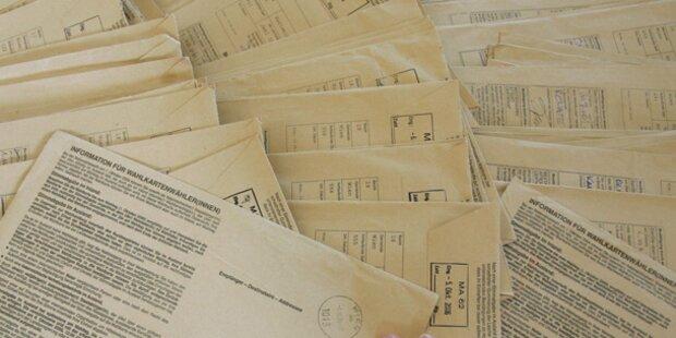 Die Wahlkarten haben der ÖVP und den Grünen mehr Stimmen gebracht.