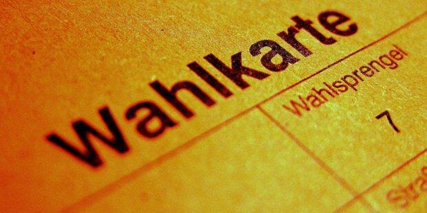 Keine fehlerhaften Wahlkarten in Graz und Innsbruck