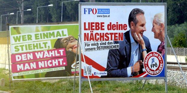 Stadt Salzburg verbietet 16-Bogen-Wahlplakate