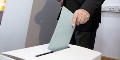 Wahlbeteiligung sinkt deutlich