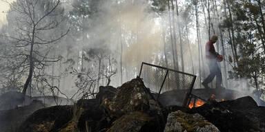 Waldbrände wüten in Portugal