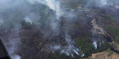 7.000 Menschen fliehen vor Bränden