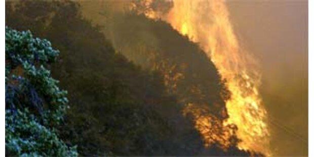Erneut wüten Waldbrände in Kalifornien
