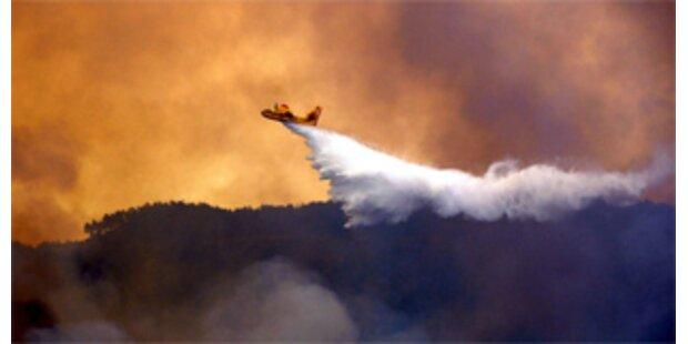 Waldbrände in Rhodos weiter