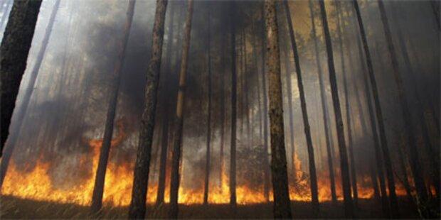 34 Tote nach Waldbränden in Russland