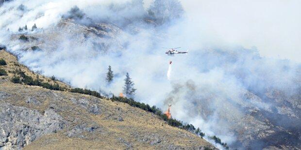 18-Jähriger löste Feuer-Inferno in Tirol aus