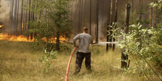 Waldbrände: Russland ruft Notstand aus