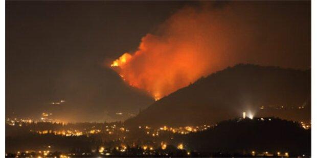Waldbrände wüten in Kanada