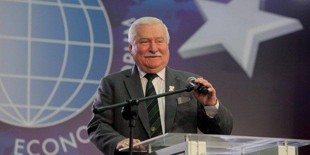 Ukraine: Lech Walesa warnt vor Atom-Krieg