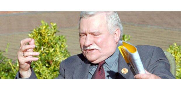 Walesa würde wieder Präsident werden