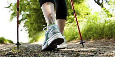 Walken: So gehen Sie sich fit