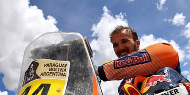 Matthias Walkner über Rallye-Auftakt