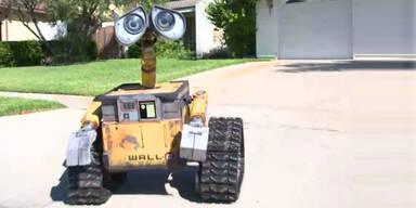 Video: Tüftler baute einen echten Wall-E