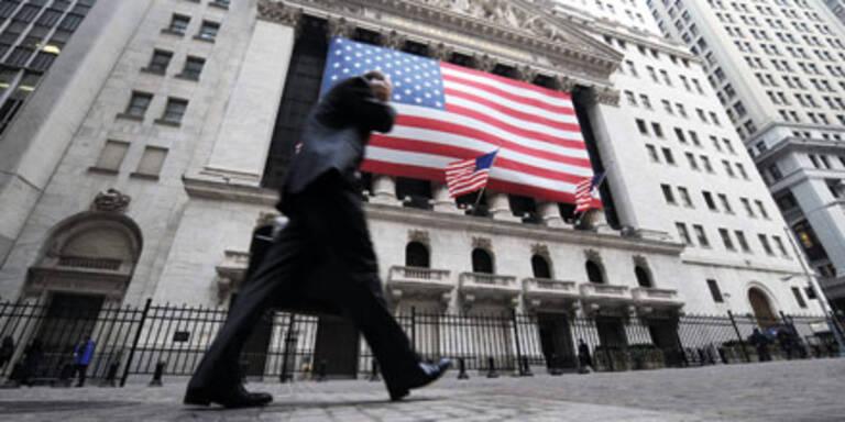 Dow Jones schließt knapp im roten Bereich