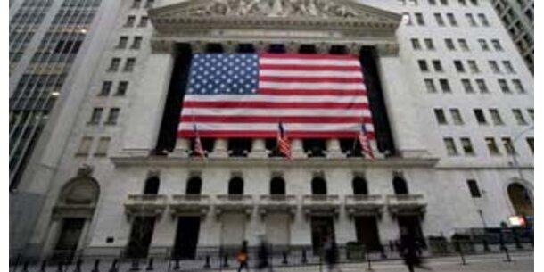 Wall Street erneut auf Talfahrt