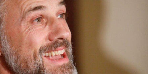 Christoph Waltz hat Lampenfieber