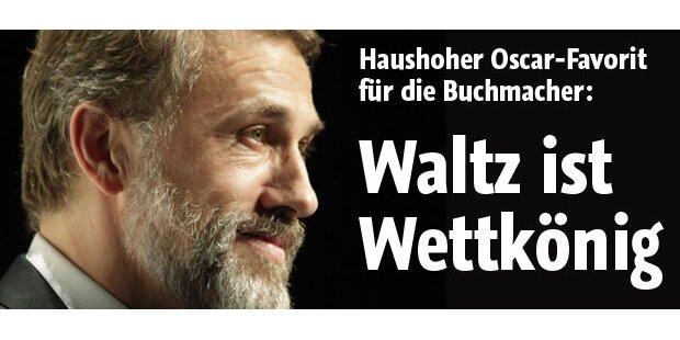 Christoph Waltz ist Oscar-Wettkönig