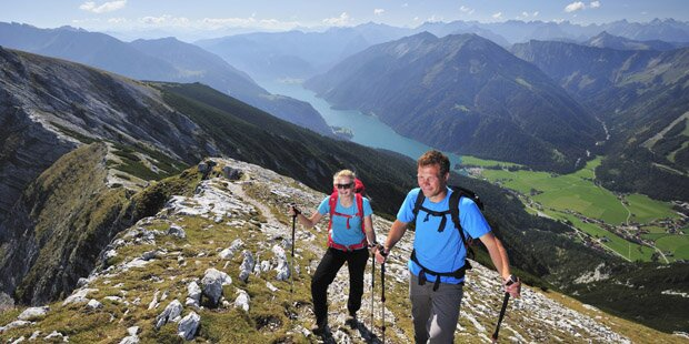 Perfektes Berg- und Wanderwetter