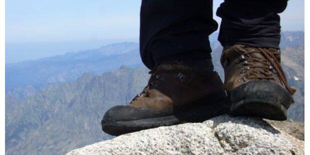 Wanderin stürzte 150 Meter ab