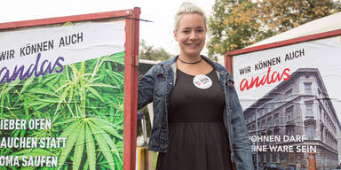 """Wien Anders"" will Cannabis legalisieren"