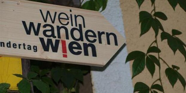 Das ist der 6. Wiener Weinwandertag