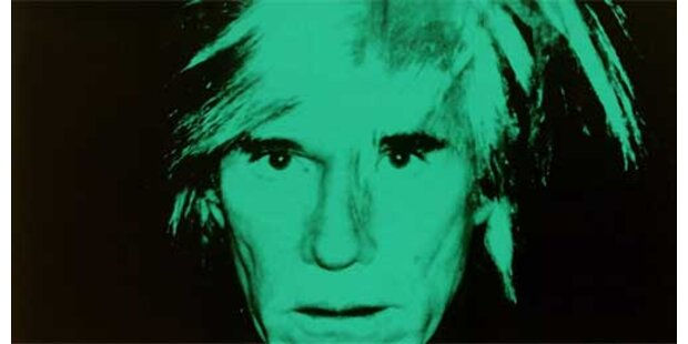 Warhol-Selbstporträt versteigert