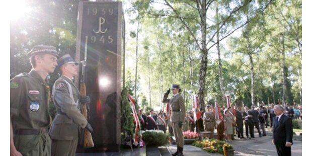 Polen gedenkt den Opfern des Warschauer Aufstands