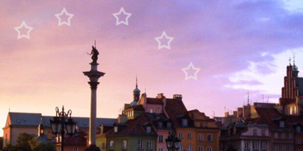 Wo der Himmel voller Hotel-Sterne hängt