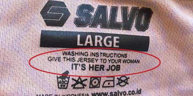 Aufregung um sexistische Anleitung