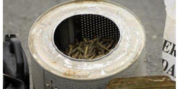 Türke verbrennt aus Frust seine Waschmaschinen