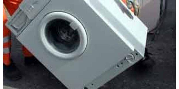 Estnischer Bub tot in Waschmaschine entdeckt
