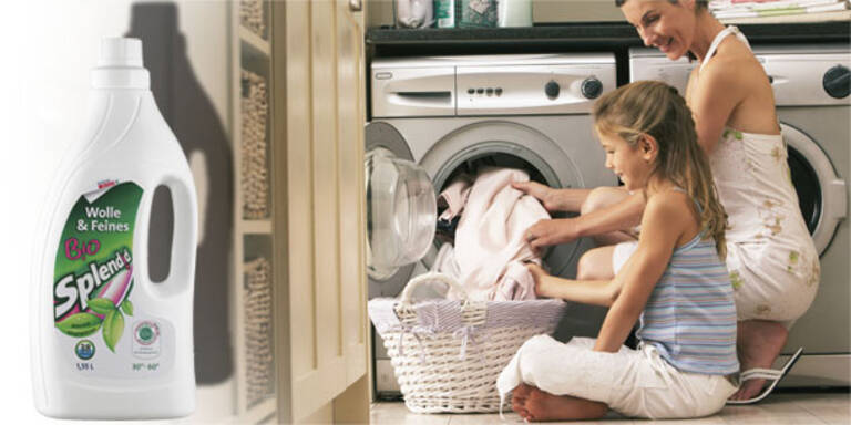 Umweltfreundlich aus der Wäsche schauen