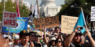 Proteste in Washington