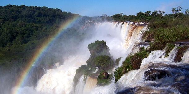 Wasserfall Flut