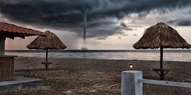 Was tun wenn Sie das am Strand sehen?