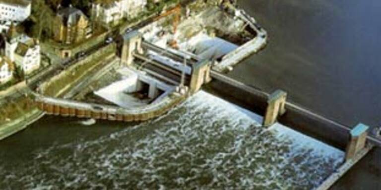 Verbund eröffnet Wasserkraftwerk