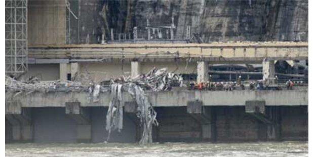 Unfall in russischem Wasserkraftwerk