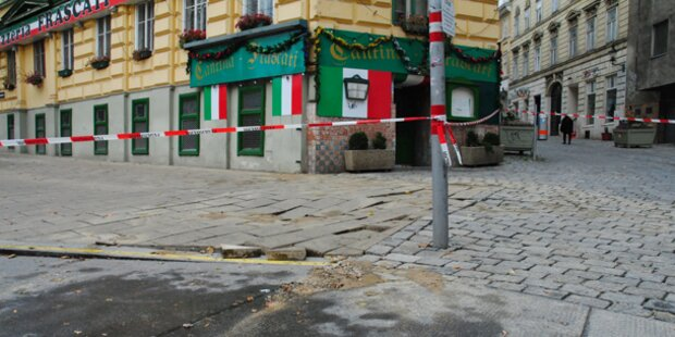 Wasserrohrbruch: Verkehrs-Chaos in Wien