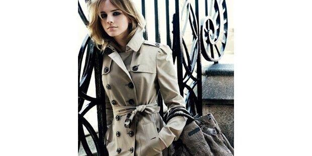 Emma Watson wird neues Burberry-Face