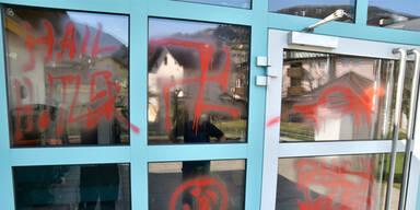 Zwei Schüler ausgeforscht: Nazi-Sprayer erst 10 und 12