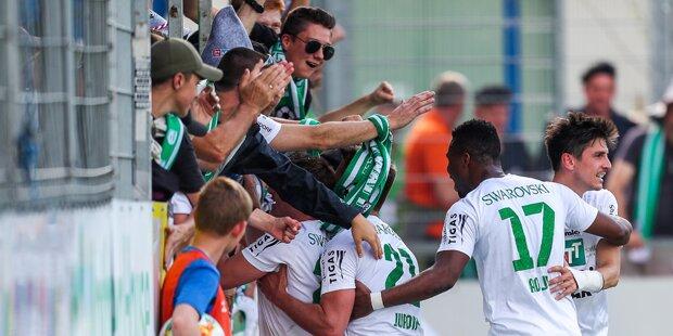Wattens steigt in Bundesliga auf