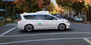 FCA setzt bei Robo-Autos nur noch auf Waymo